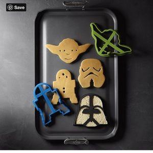 William Sonoma Star Wars Pancake molds 🥞